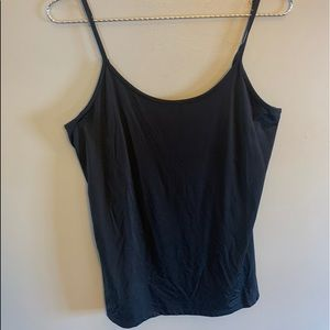 Smartest Black tank top , sz lrg
